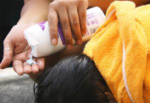 как наносить шампунь от вшей