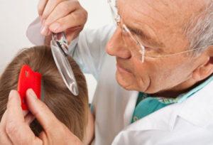 Симптомы поражения вшами