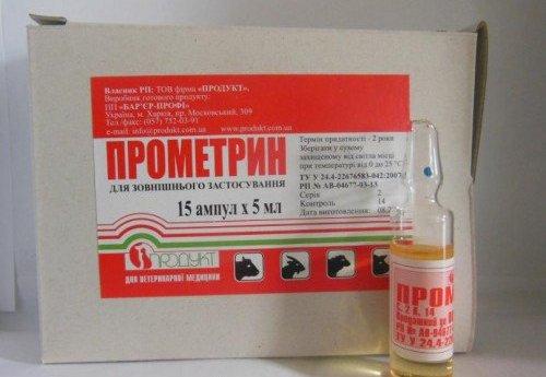 препарат Прометрин от блох