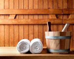 баня способствует появлению клещей
