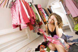 Начать надо с перетряхивания гардероба