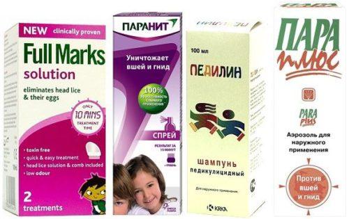 Эффективные шампуни от вшей и гнид