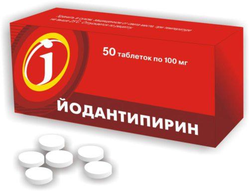 Йодантипирин от клещей