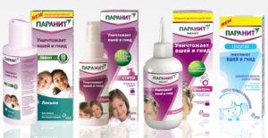 Линейка продукции бренда Паранит