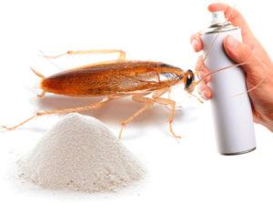 Разнообразные средства от тараканов