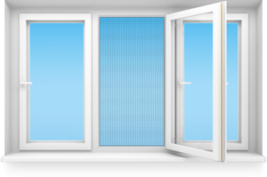 антимоскитные сетки на окнах