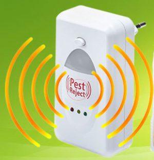 Прибор работает за счет электромагнитного излучения